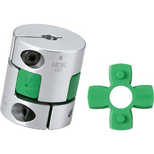 Flexible Coupling - Jaw-Type - Clamping Type