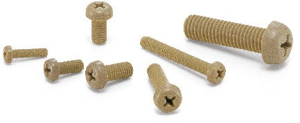 SPE-PPlastic Screws - Cross Recessed Pan Head Machine Screws - PEEK