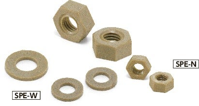 SPE-WPlastic Screw - Hex Nuts / Washers - PEEK