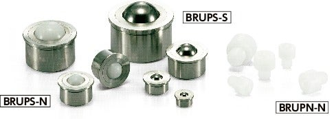 BRUPN-NBall Rollers - Press Fit Type