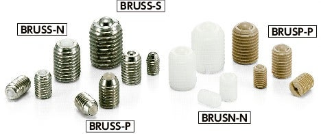 BRUSN-NBall Rollers - Set Screw Type