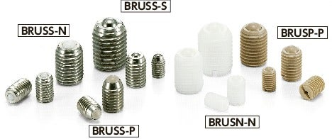 BRUSS-NBall Rollers - Set Screw Type
