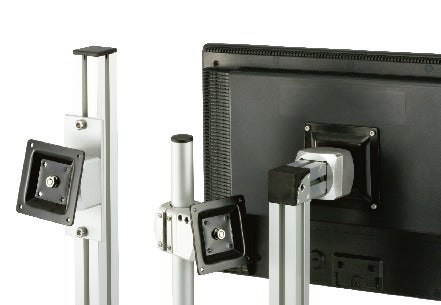 DFK-AF/DFK-AA/DFK-PBDisplay Mounting Systems - 360° Rotation Type - Bolt Retention