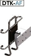 DTK-AFTablet PC Mounting System - 360°rotation Type - Bolt Retention