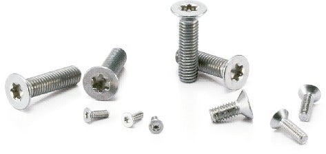 SNFXSHexalobular Socket Flat Head Machine Screws