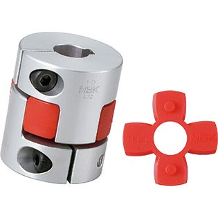 Flexible Coupling - Jaw-Type - Clamping + Key Type