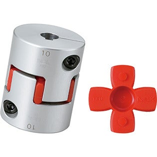 Flexible Coupling - Jaw-Type (Short) - Clamping + Key Type
