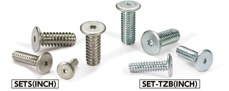 SETS(INCH)Hexalobular Socket Head Cap Screw with Extra Low Profile (Inch Thread/Stainless Steel)