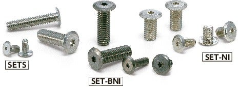 SETSHexalobular Socket Head Cap Screws with Extreme Low Profile