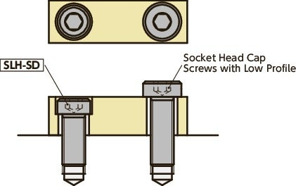 SLH-SD-ELSocket Head Cap Screws with Low