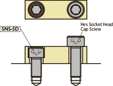 SNS-SDSocket Head Cap Screws with Small Head
