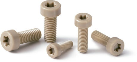 SPE-LHPlastic Screw PEEK / Hexalobular Socket Head Cap Screw / Low Profile