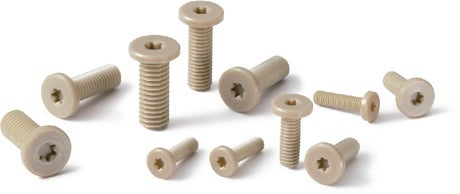 SPE-SHPlastic Screw PEEK / Hexalobular Socket Head Cap Screw / Special Low Profile