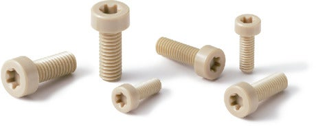SPS-LHPlastic Screw PPS / Hexalobular Socket Head Cap Screw / Low Profile