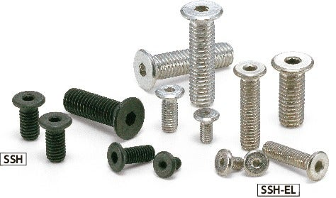 SSH-ELSocket Head Cap Screws with Special Low Profile