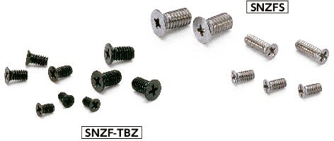 SNZF-TBZCross Recessed Flat Head Machine Screws for Precision Instruments