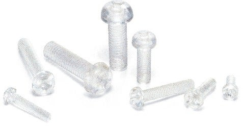 SPC-PPlastic Screw - Cross Recessed Pan Head Machine Screws - PC