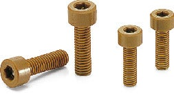 SPD-CPlastic Screws - Hex Socket Head Cap Screws - VESPEL (Grade: SP-1)