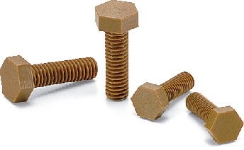 SPDC-HPlastic Screw - Hex Head Screws - VESPEL(Grade:SCP-5000)