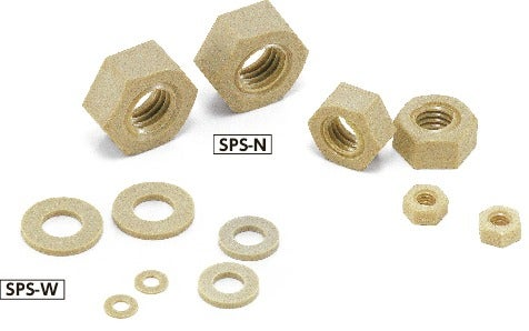 SPS-NPlastic Screw - Hex Nuts / Washers - PPS