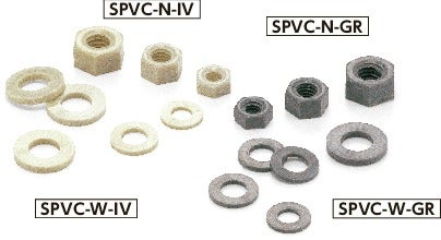 SPVC-NPlastic Screw - Cross Recessed Pan Head Machine Screws - PPS