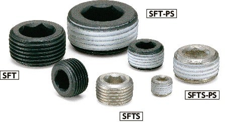SFT-PSHex Socket Pipe Plugs