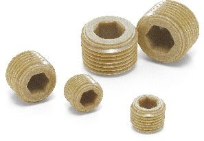 SPE-RPlastic Screw - Socket Head Cap Screw Plugs - PEEK