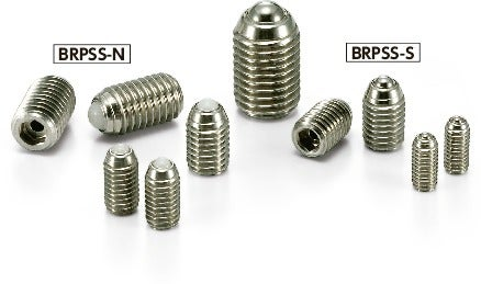BRPSS-SBall Rollers with Spring Plunger Function - Set Screw Type