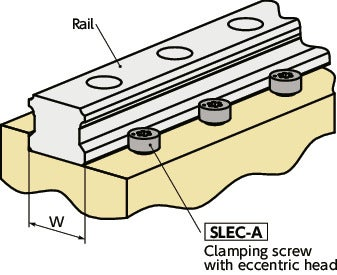 SLEC-A-ELClamping Screws with Eccentric Head