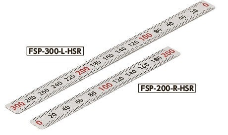 FSP-HSRScale Plate (Horizontal Type) - Half scale