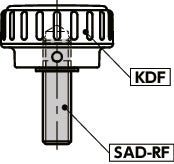 SADS-RFScrew Adaptor - Fine Threaded Type