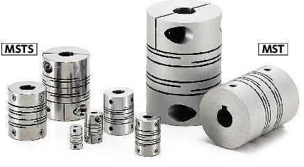 MSTS-CFlexible Couplings - Slit Type - Clamping Type