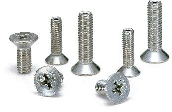 SVFSCross Recessed Flat Head Machine Screws with Ventilation Hole