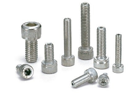 SVSS(INCH)Hex Socket Head Cap Screws (with Ventilation Hole / Inch Screws)