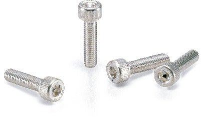 SVSS-AGHex Socket Head Cap Screws with Ventilation Hole - Silver Plating