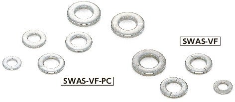 SWAS-VF-PCWashers with Ventilation Grooves