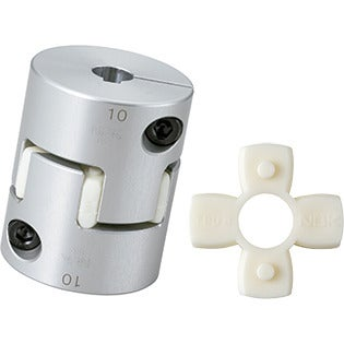 Bore Diameters 18 mm and 1 mm NBK MJC-65-EBL-18-1 Jaw Flexible Coupling Set Screw Type