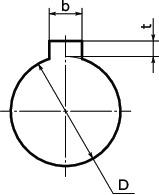 Bore Diameters 11 mm and 30 mm NBK MJC-55-EWH-11-30 Jaw Flexible Coupling Set Screw Type