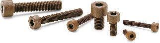 SPDC-CPlastic Screws - Hex Socket Head Cap Screws - VESPEL (Grade: SCP-5000)