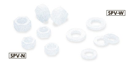 SPV-NPlastic Screws - Hex Nuts / Washers - PVDF