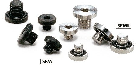SFMS-MHex Socket Flange Head Screw Plugs