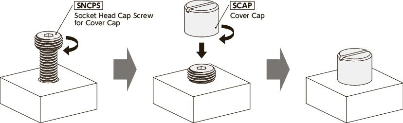 SNCPSSocket Head Cap Screws for Cover Caps