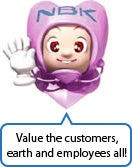 Value the customers,earth and employees all!